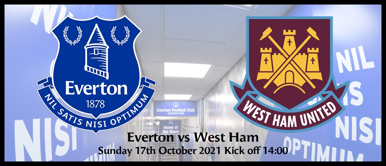 West Ham Sunday 17th October 2021 EPL